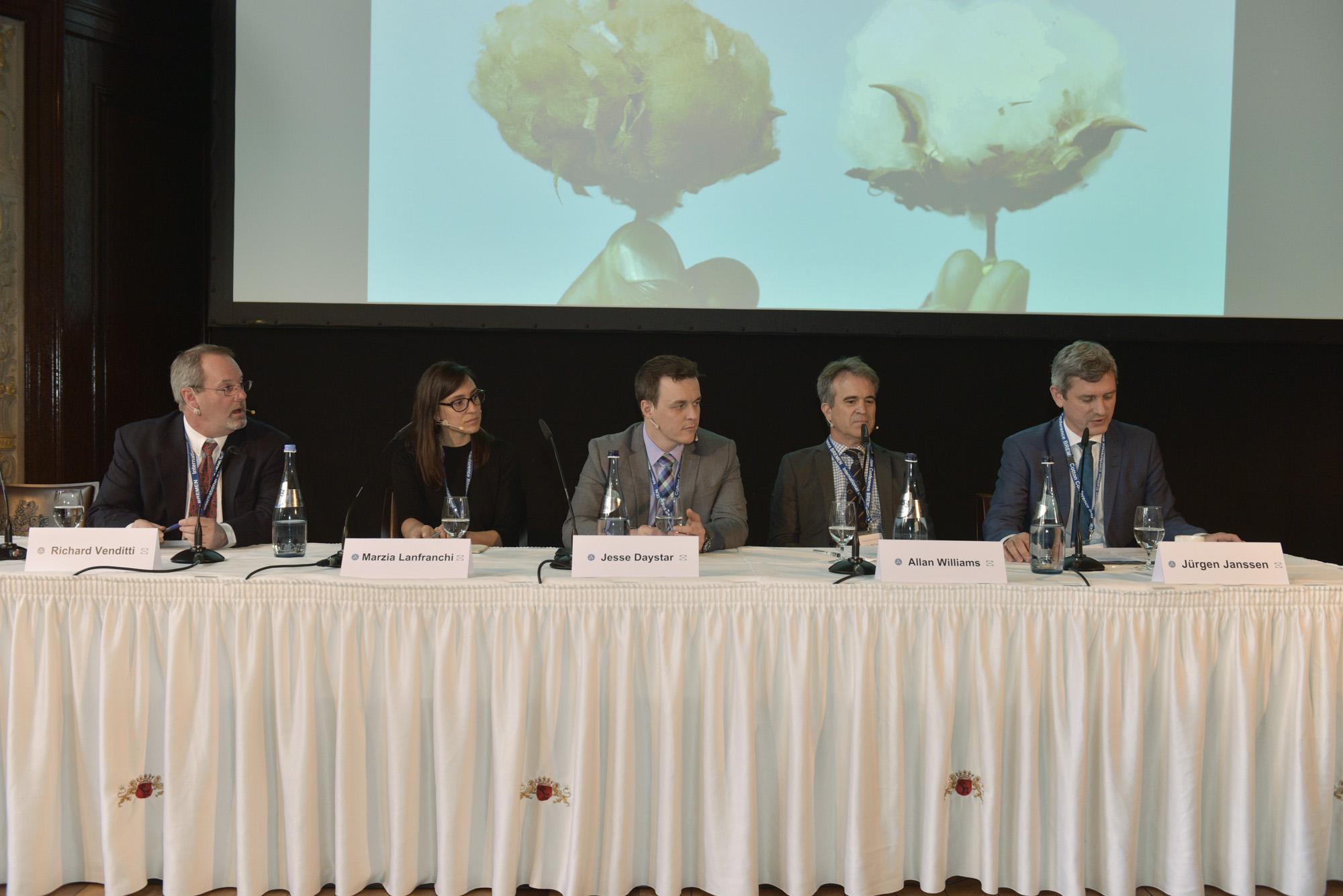 Paneldiskussion Baumwolle und Nachhaltigkeit 2018